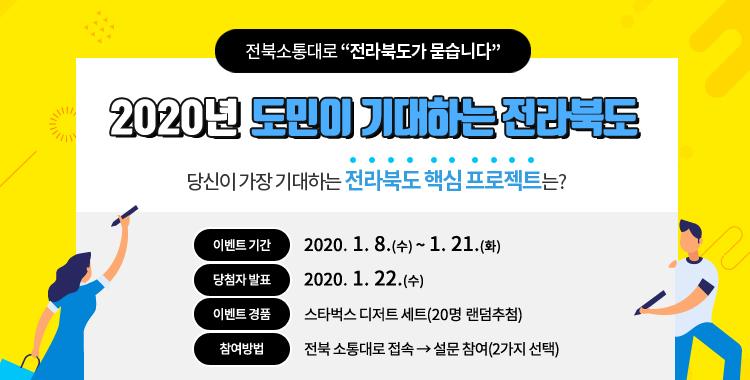 2020년 도민이 기대하는 전라북도