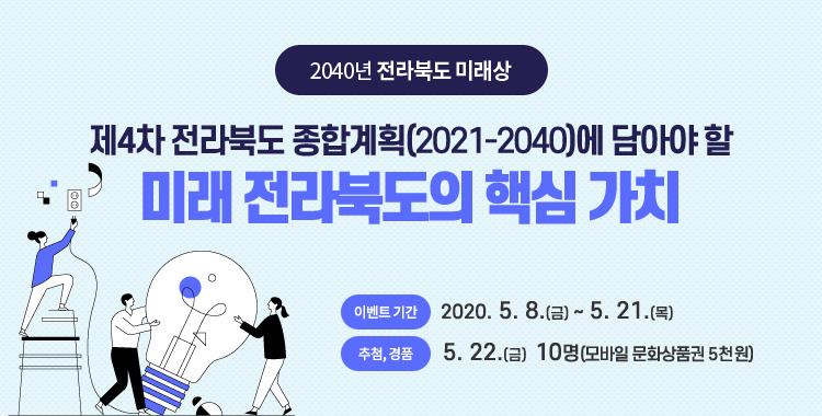 제4차 전라북도 종합계획(2021~2040)에 담아야 할 미래 전라북도의 핵심 가치